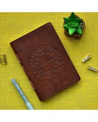 Tranquility Brown Planner Pu, brown