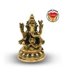 3.5Inces Ganesha With Base 4 Hands