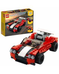 Lego Creator Sports Car Building Blocks, Age 6+