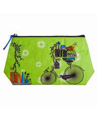 Brain Bridge Cycle Cosmetic Bag