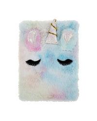 Rainbow Unicorn Plush Notebook, mix