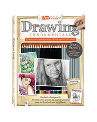 Art Maker Drawing Fundamentals Kit (Portrait), multi