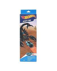 Hot Wheels Desert Sting Trackset, Age 6 To 8 Years