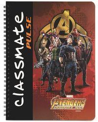 Classmate Pulse Long Book Single Line Notebook Pg180