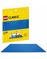 Lego Classic Blue Base Plate Building Blocks, Age 4+