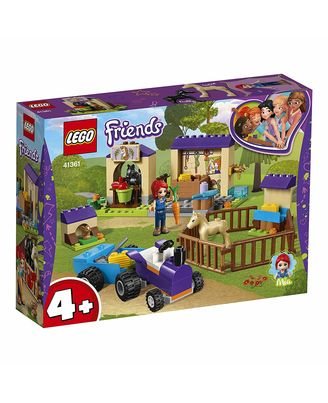 Lego Friends Mia S Foal Stable Building Blocks, Age 4+