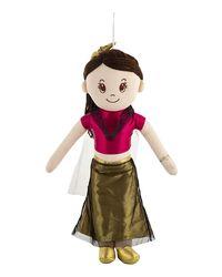 Mirada Doll Natasha Bridal Girl 55Cm, Age 3 To 5 Years