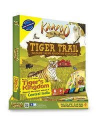 Kaadoo Board Game Tiger Trail Central India, Age 6+