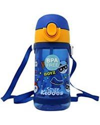 Fancy panda water bottle blue, blue