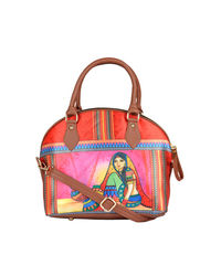 Hand Bag: 240-02, multicolour