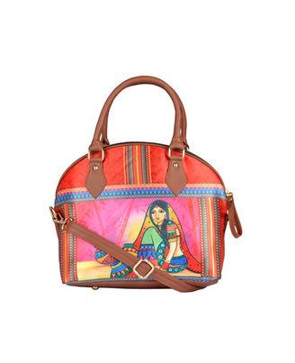 Hand Bag: 240-02, multicolour, multicolour