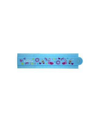 Smily Fold Up Ruler-Light Blue