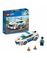 Lego City Police Patrol Car Building Blocks, Age 5+