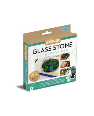 Craftmaker Glass Stone Paperweights, na