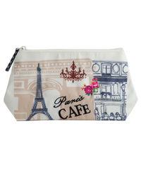 Paris Cafe Cosmetic Bag