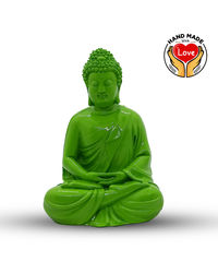 Resin Radium Green Buddha