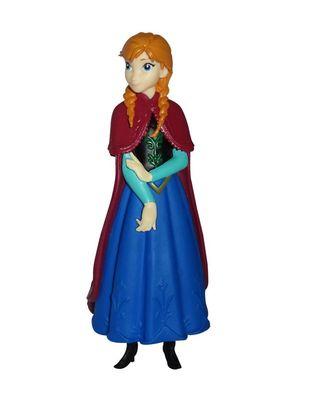 Frozen Anna Figurine, Multi Color