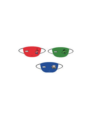 Marvel Kids Face Mask - Spiderman, Hulk & Thor