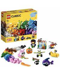 Lego Classic Brick & Eyes Building Blocks, Age 4+