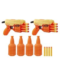 Nerf Alpha Fang Qs4 Duel Gun, Age 9 To 12 Years