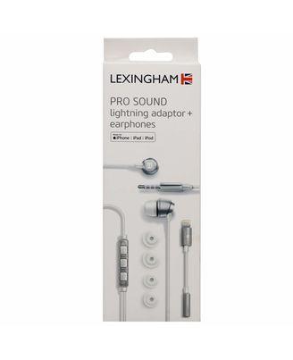 Lexingham Mfi Certified Lightning Adaptor+ Earphones, multicolour