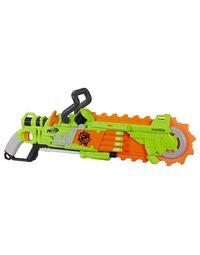 NERF Guns Zombie Strike Brainsaw Blaster, Age 8+