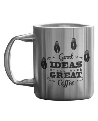 Good Ideas-Great Coffee Stainless Mug