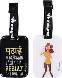 Padhai< Result ka Darr (Girl Version), multicoloured