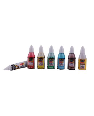 Solvent Based Glass Colours Tp Sbgc (20ml X 5 Shades)