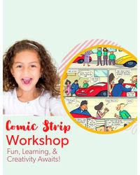 Comic Strip Making - June 6th, 11: 00 am– 12: 15 pm
