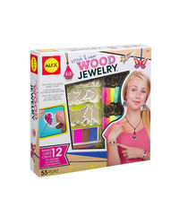 Alex Toys Diy Stitch & Wear Wood Jewelry, Age 8+