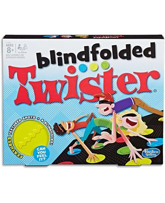 Hasbro Games Blindfolded Twister, Age 8+