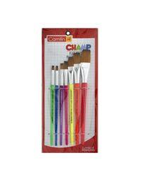 Champ Brushes Set Of 7 Flat (Sr-65), mix