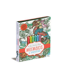 Kaleidoscope Colouring Mermaids & Seahorses, na