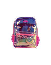 Fancy Translucent Backpack Pink