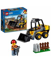 Lego City Construction Loader Building Blocks, Age 5+