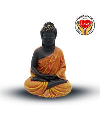 Resin Buddha Orange