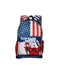 Captain America White School Bag 48 cm