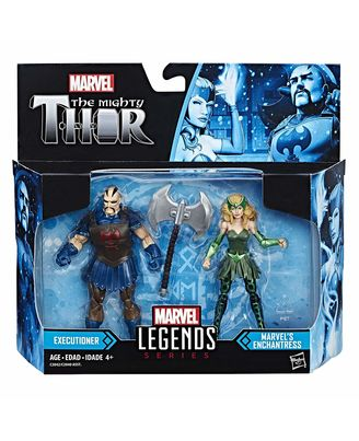 Hasbro Marvel Legends Marvel and Enchantress Executioner