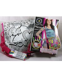 Fashion Time Messenger Bag, Multi Color