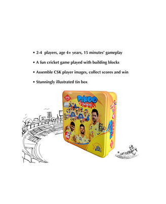 Kaadoo Board Game Csk Pixoo, Age 6+