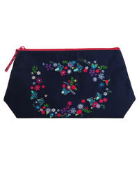 Butterfly Bloom Cosmetic Bag