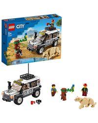 LEGO City: safari off-roader, Age 7+