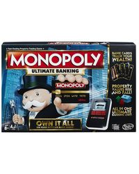 Hasbro Games Monopoly Ultimate Banking Age, 8+