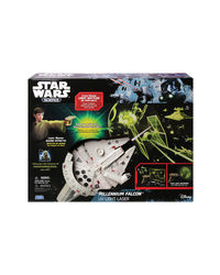 Uncle Milton Starwars Millenium Falcon Uv Light Laser, Age 5+