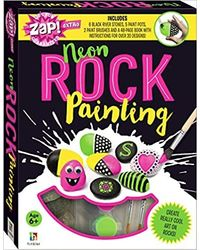 Zap! Extra Neon Rock Painting, multi