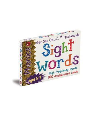 Phonics Get Set Go Flashcards Sight Words, multi