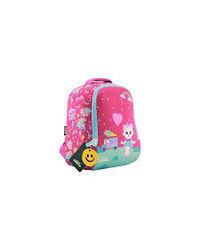 Smily Preschool Backpack Pink