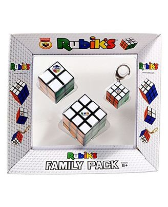Rubik s Family with Key Chain, Multi Color