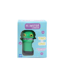 Hamster London Scented Sharpener & Eraser Monster